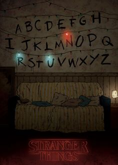 20 Awesome Fan Art Pieces for Netflix& Stranger Things Stranger Things Tumblr, Stranger Things Lights, Stranger Things Quote, Stranger Things Aesthetic, Stranger Things Netflix, Wattpad, Event Posters, Movie Posters, Film Serie