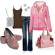 Not really my style- but love those pink cheetah toms.