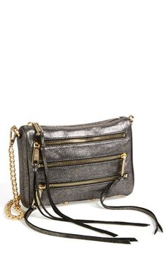 Rebecca Minkoff 'Mini 5 Zip' Convertible Crossbody Bag available at #Nordstrom