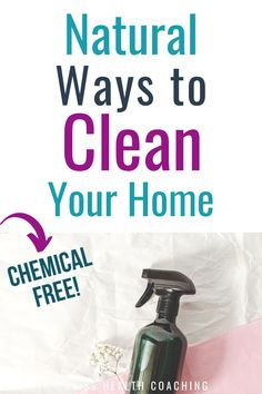 It's time to toss those harsh chemicals and use natural ingredients to clean your home. Simple items such as baking soda, essential oils, and other household items can get your home sparkling clean and safe for children and pets. Nontoxic and chemical-free.  #naturalcleaners #cleanhome #organiccleaning Homemade Cleaning Products, Natural Cleaning Products, Essential Oil Diffuser, Essential Oils, Baking Soda And Lemon, Stress Eating, Glass Spray Bottle, Sparkling Clean, Natural Cleaners