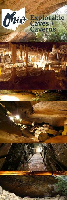 Explorable Caves in Ohio that are Ready for a Family Outing Ohio's Caves Beckon a Visit this year!Ohio's Caves Beckon a Visit this year! Oh The Places You'll Go, Places To Travel, Travel Destinations, Places To Visit, Travel Things, Weekend Trips, Weekend Getaways, Day Trips, Dream Vacations