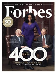 Oprah covers Forbes magazine... As if we're surprised.. We all know Oprah got that GWAP!