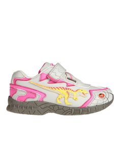 Take a look at this Pink 3-D Light-Up T-Rex Sneaker on zulily today!