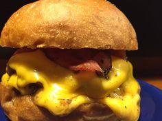 Double Cheese Bacon Burger