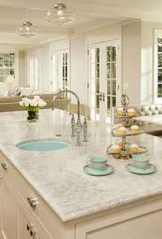 Counter top -white princess quartzite