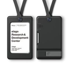 elago USB ID Card Holder (reddot design award winner - (USB Flash Drive Not Included) Id Card Design, Id Design, Badge Design, Graphic Design, Brand Design, Layout Design, Id Badge Holders, Id Holder, Event Signage