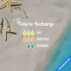 Time to Recharge Diffuser Blend