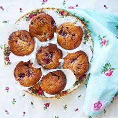 raspberry swirl tea cakes