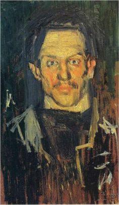 Self-Portrait+-+Pablo+Picasso