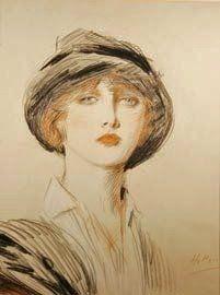 Susan E. Liston - Art ...Paul Cesar Helleu (French artist, 1859-1927) Portrait of a Lady
