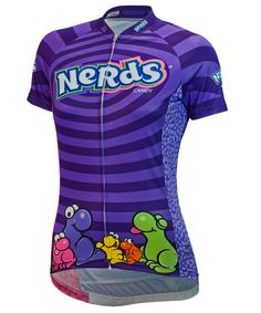 Nestle Nerds Candy Women's Cycling Jersey - FREE shipping in the US at http://www.cyclegarb.com/brainstorm-gear.html