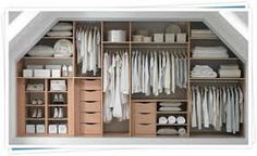how to design fitted wardrobe loft - Google Search