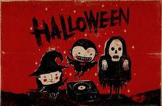 Halloween illustration! :) more at: http://facebook.com/mr.mooree