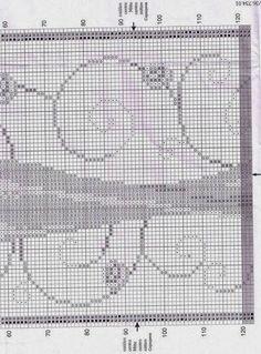 GRAFICOS PUNTO DE CRUZ GRATIS : ZAPATOS Y VESTIDO VERVACO