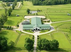 I would take the covered round pen away and put the stables on the sides for the colder climate. Dream Stables, Dream Barn, Horse Stables, Horse Barns, Horses, Equestrian Stables, Horse Farm Layout, Barn Layout, Horse Farms For Sale