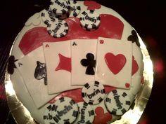 Poker cake...
