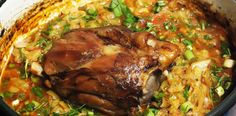 Romanian Food, Pork Recipes, Paella, Soul Food, Food To Make, Yummy Food, Chicken, Meat, Cooking