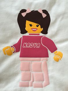 Personalized Lego inspired Shirt for kids short sleeve Lego Birthday, Legoland, Kids Shorts, Bart Simpson, Vacation, Inspired, Trending Outfits, Unique Jewelry, Sleeve