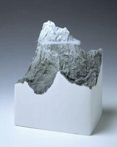 processingmatter:  Mountain (1995) by Mariele Neudecker