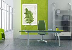 Obraz na płótnie 70x100 cm - PAPROĆ - LUdesign-gallery - Dekoracje ścienne