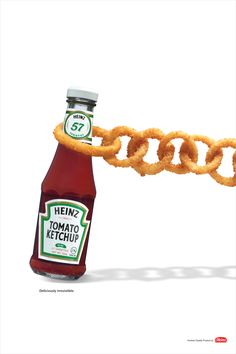 advertising campaign Creative Heinz Ketchup Ads - Check out these 20 great ones Heinz Ketchup is one of the most known brand around the world. We have found some great creative Heinz Ketchup Ads, check out the 20 best ones. Good Advertisements, Clever Advertising, Print Advertising, Print Ads, Marketing And Advertising, Guerrilla Marketing, Street Marketing, Advertisement Examples, Product Advertising