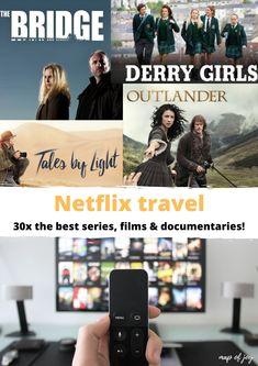 Travelling while your at home? Looking for Netflix tips? Here's a list of Netflix travel: the best series, films and documentaries! Netflix, North Europe, High Pictures, Best Series, Documentary Film, Outdoor Travel, Wasting Time, Outlander, Sherlock