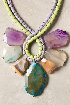 Seven Stones Necklace - Anthropologie.com