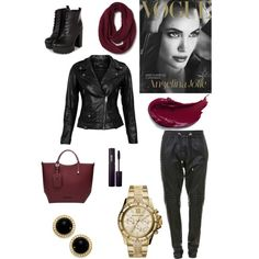 the Polyvore Android app. http://www.polyvore.com/android