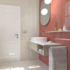 MALÉ KÚPEĽNE - Riešenia & Dizajn / BENEVA Small Bathroom, Bathroom Lighting, Cabinet, Mirror, Storage, Inspiration, Furniture, Home Decor, Small Shower Room