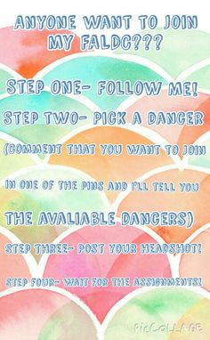 Anyone want to join my FALDC?? (Four Steps)