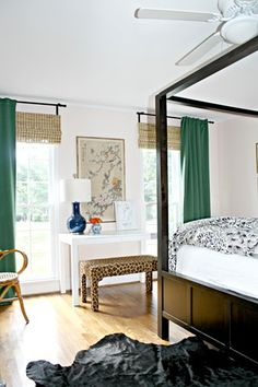 Green IKEA Curtains For Our Bedroom - Emily A. Clark