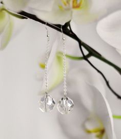 These do-it-yourself earrings show that it doesn't have to be New Year's Eve to have the ball drop. The Crystal Ball Drop Earrings featured here are a great way to celebrate all year round.
