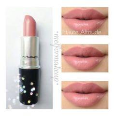 MAC Lipstick in Haute Altitude Eyebrow Makeup Tips Makeup 101, Love Makeup, Skin Makeup, Makeup Ideas, Makeup Products, Beauty Products, Mac Products, Perfect Makeup, Makeup Geek