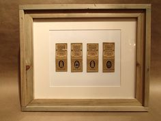Perfect gift for a guy! Know Your Army Framed Rare WW2 Matchbook by StrikeMatchCo on Etsy