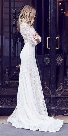 Impeccable Winter Wedding Dresses ★ See more: https://weddingdressesguide.com/winter-wedding-dresses/ #bridalgown #weddingdress