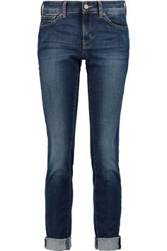 7 FOR ALL MANKIND CRISTEN LOW-RISE SKINNY JEANS £115 http://www.theoutnet.com/product/739577