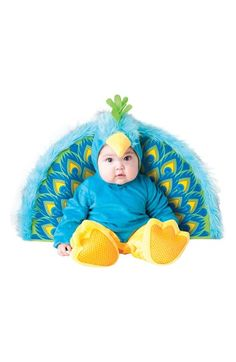 Free shipping and returns on InCharacter Costumes 'Precious Peacock' Jumpsuit & Plumage (Baby) at Nordstrom.com. A soft little beak trims the hood of an adorable peacock costume complete with detachable plumage and nonskid booties.