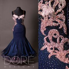 Navy & Pink Lace Standard -- looove it, just needs sleeves to be perfect!!