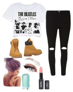 """""""I'm obsessed with the Beatles """" by sarahpicarelli-1 ❤ liked on Polyvore"""
