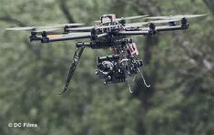 Quadcopter Aerial Photography..... CineStar 8 OctoCopter with a 3-axis camera gimbal carrying a Red Epic-X camera. [ AutonomousAvionics.com ] #Film #funny #technology