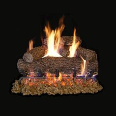 Real Fyre Canyon Oak Vented Gas Log Set | Woodlanddirect.com | Log Sets - Gas Gas Logs, Ignition System, Strong, Beauty, Products, Ideas, Beauty Illustration, Gadget, Thoughts