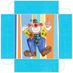 Clowns: Free Printable Boxes. | Oh My Fiesta! in english
