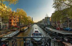 Paysage à découvrir pendant vos vacances à Amsterdam
