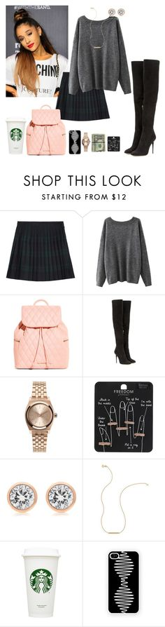 """""""If I were u I would never let me go"""" by dearme-xoxo on Polyvore featuring moda, McQ by Alexander McQueen, Vera Bradley, Jimmy Choo, Nixon, Topshop, Michael Kors, Wish by Amanda Rose, Samsung e women's clothing"""