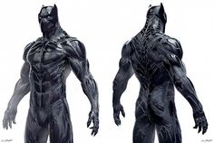 Concept art for Black Panther in the Marvel Cinematic Universe has been unveiled by Captain America: Civil War artist Jerad Marantz. Black Panther Marvel, Black Panther King, Black Panthers, Marvel Comics, Marvel Heroes, Jack Kirby, Stan Lee, Comic Book Characters, Marvel Characters
