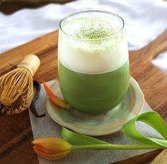 Inspired Edibles: Vanilla Bean Matcha Latte