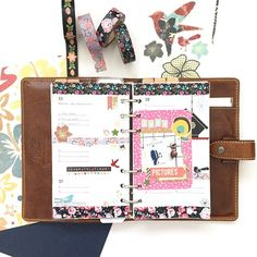 Next week's layout: love me some floral washi!
