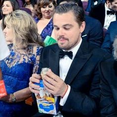 Leo loves his girl scout cookies