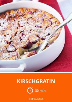 Kirschgratin - smarter - Zeit: 30 Min. | eatsmarter.de