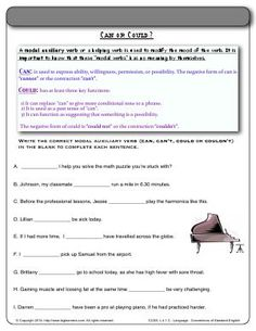 worksheet modal auxiliary verb can determine how can is used in each sentence 4th. Black Bedroom Furniture Sets. Home Design Ideas